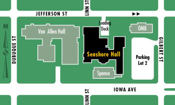 map of Seashore Hall